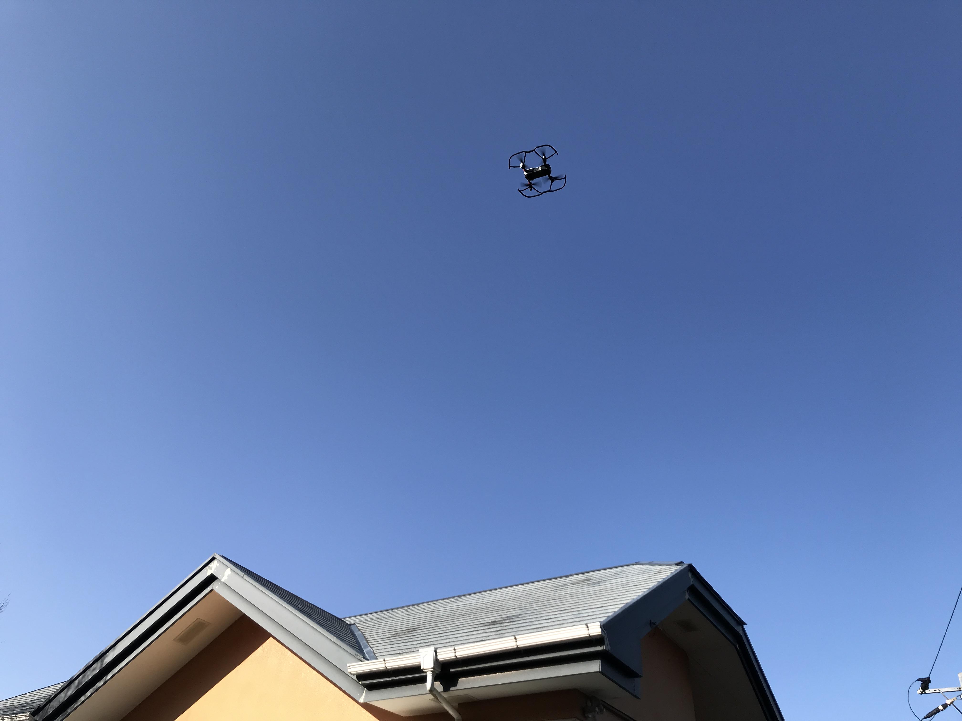 ドローンで屋根、外壁を点検【実務編】